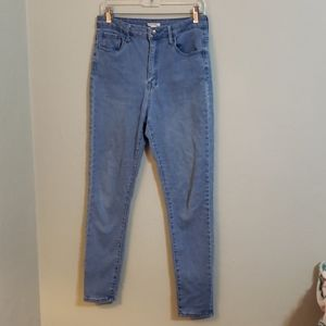 Forever21 skinny high rise jeans